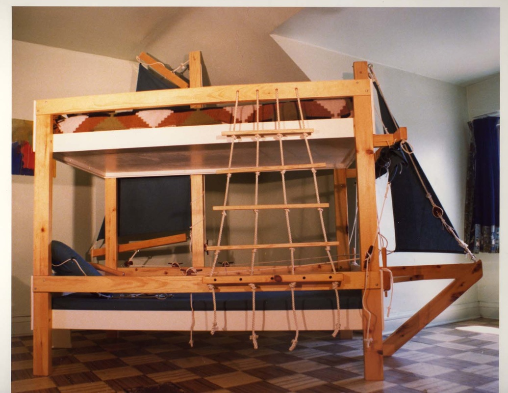 Wooden Bunk Bed Ladder